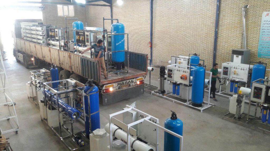 نوین تصفیه | دستگاه آب شیرین کن صنعتی